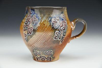 Four Cornered Flower Mug