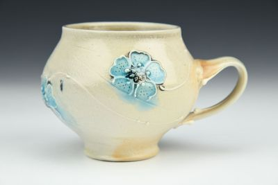Blue Blossom Teacup