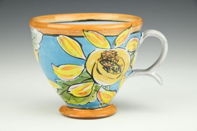 Cup: Sunflowers