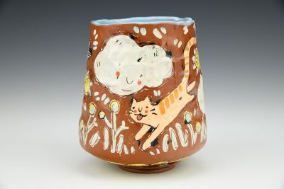 Cat Nap Illustrated Cup
