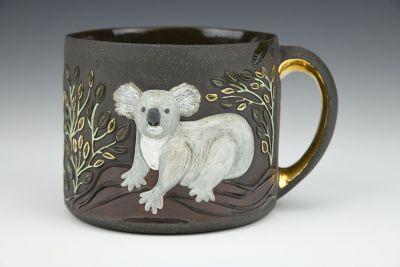 Koala and Eucalyptus Cup