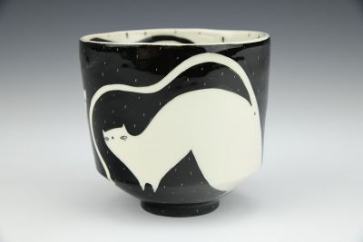Contrast Cats Cup