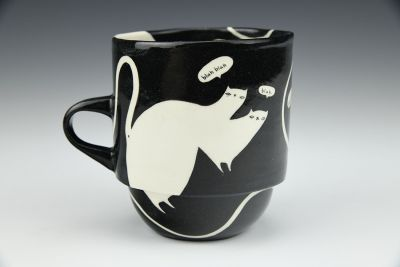 Farting Cats Cup