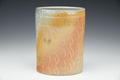 Raindrop Oval Vase