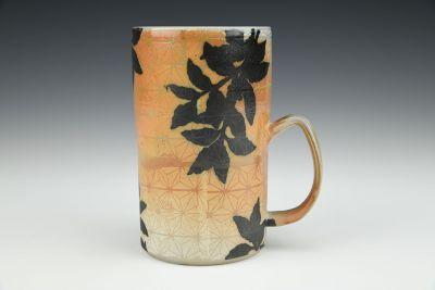 Coffee Plant Soda Fired Mug