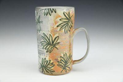 Palm Soda Fired Mug