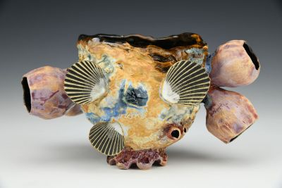 Coral Barnacle Cup