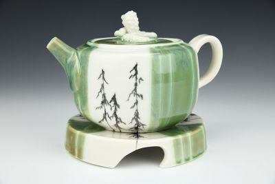 Teapot with Tray