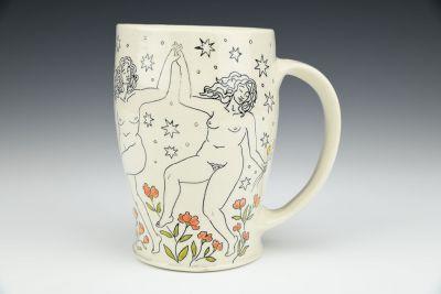 Mug with Ladies Dancing