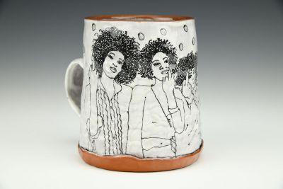 Natural Hair Women Coffee Mug