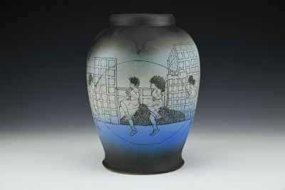 Double Dutch Vase