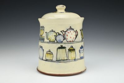 Kitchen Shelves Jar