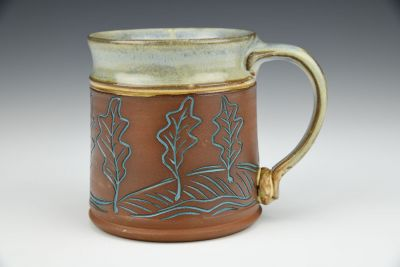 Dancing Leaves Mug