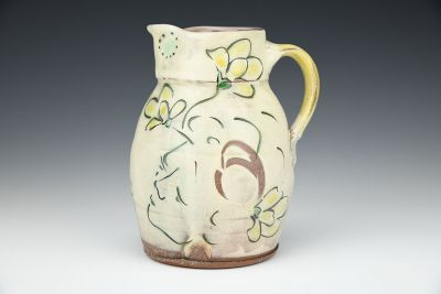 Face and Flower Pitcher