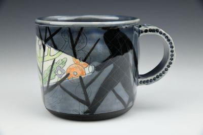 Gray Flashlight Mug