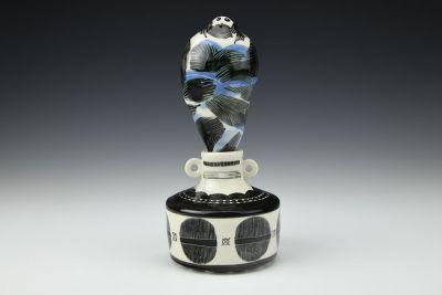 Smoke Man Vase