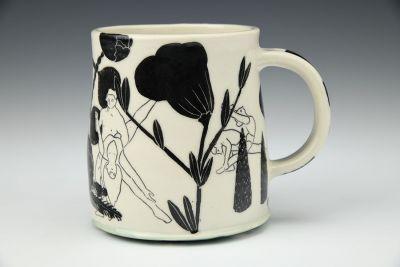 Black and White Dancer Mug
