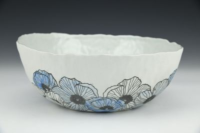 Large Bowl with Anemones 2