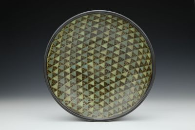 Black Triangles Bowl