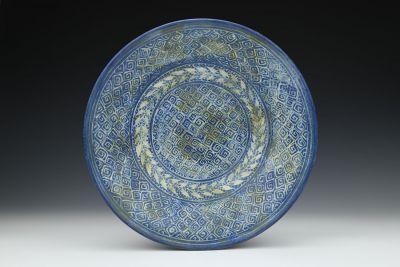 Flared Blue Bowl