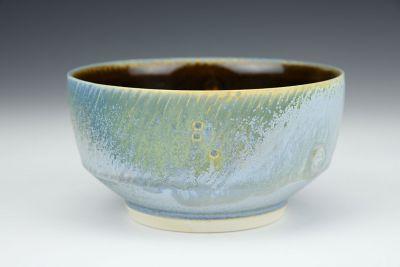 Blue Low Bowl