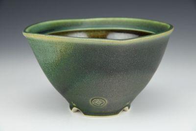 Square Green Bowl