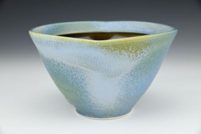 Square Blue Bowl