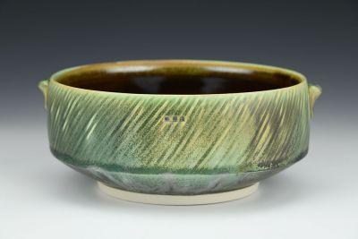 Low Green Bowl