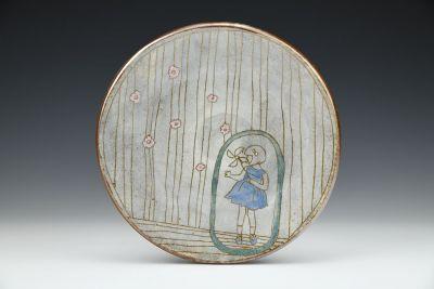 Little Girl with Pinwheel