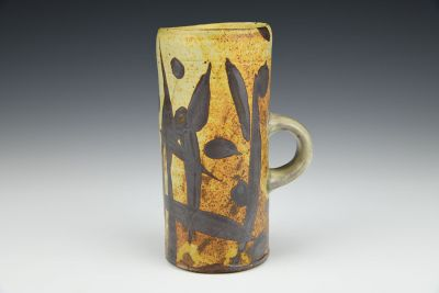 Mug with Iron Brush