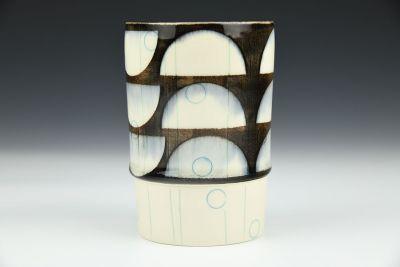 Black Semi-Circle Cup