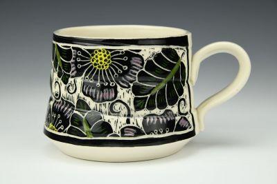 Large Floral Twist Mug