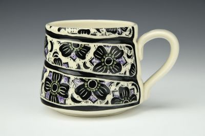 Small Floral Twist Mug