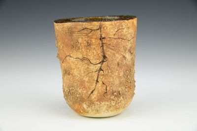 Root Cup with Worm