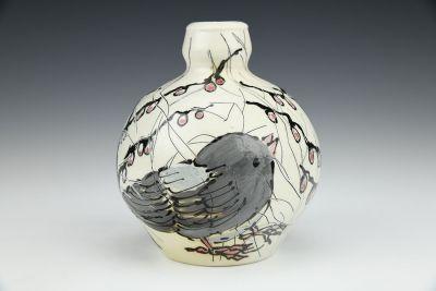 Junco Winter Vase