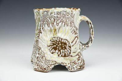 Arched Sunflower Mug