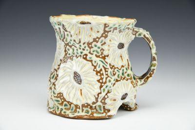 Arched Rudbeckia Mug