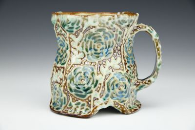 Arched Begonia Mug