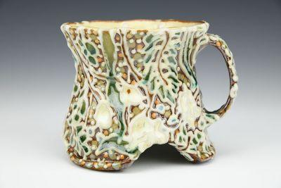 Arched Cascading Vine Mug