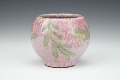 Round Pink Cocktail Cup