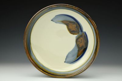 Brushwork Pie Plate