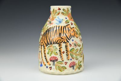 Shades of the Forest Vase