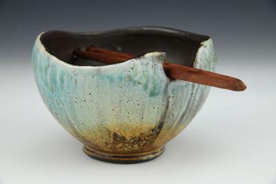 Turquoise Ramen Bowl