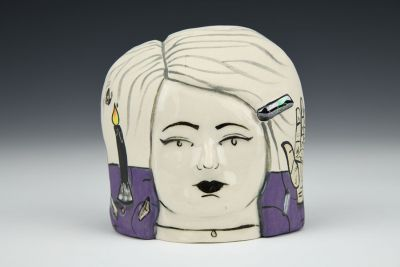 Lady Head with Magical Alter