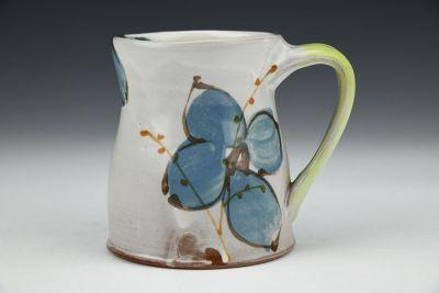 Mug with Blue Flowers