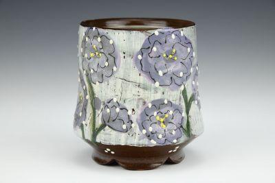 Purple Wildflower Cup