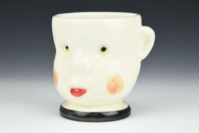 Black Doll Head Cup