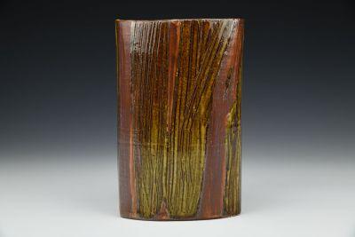 Oval Shaped Vase