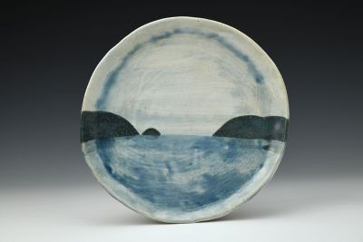 Rising Tides Dessert Plate