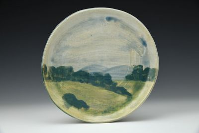 Landscape Dessert Plate